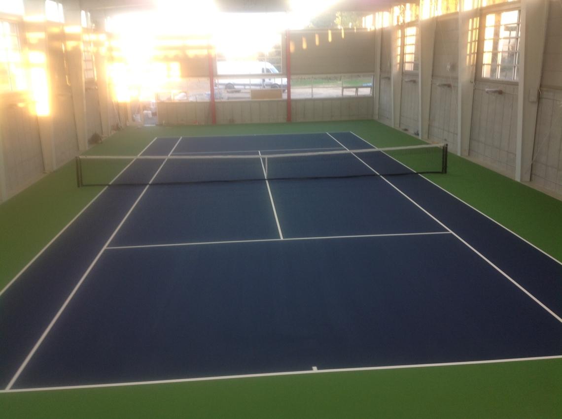 Corning, NY Tennis Court