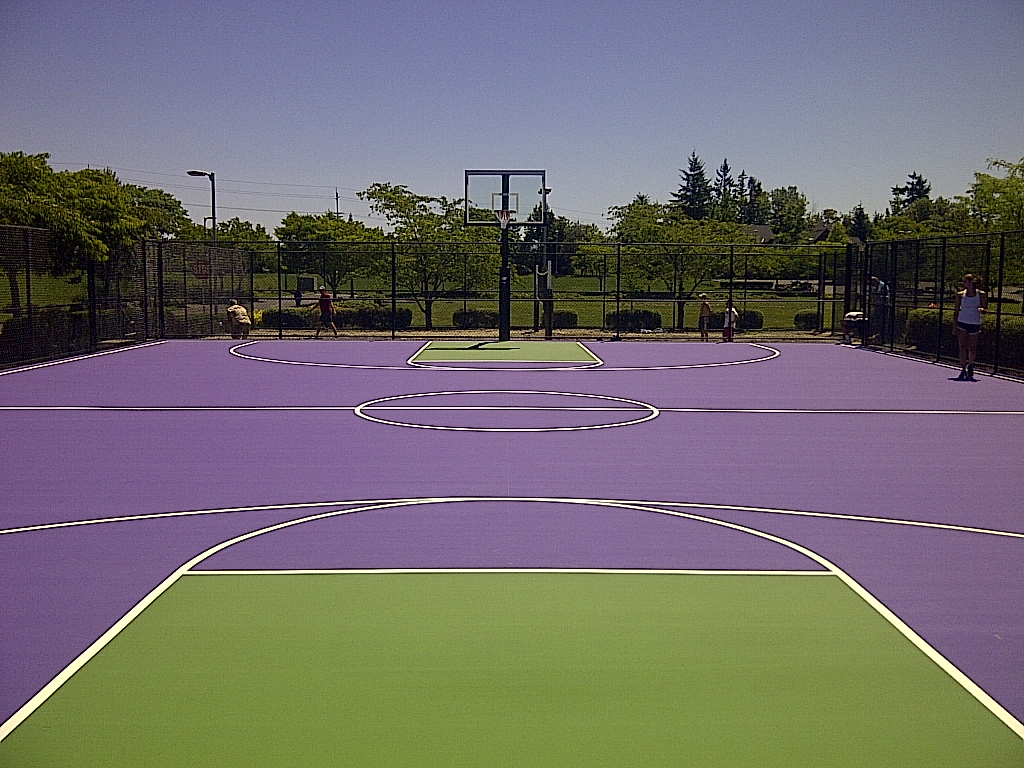Basketball Court 2013